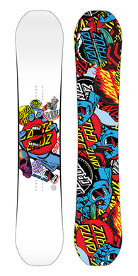 Santa Cruz Decal 158cm Snowboard Deck