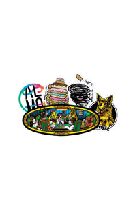 Almost Skateboards Spring 2018 Sticker 5pk