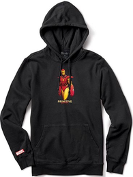 Primitive x Marvel Iron Man Pullover Hooded Sweatshirt