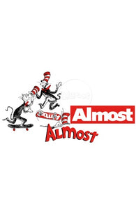 Almost x Dr Seuss Assorted 5pk Sticker