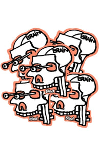 Blind Heritage Mark Gonzales Experimental Sticker