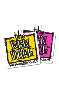 New Deal Napkin Logo Sticker