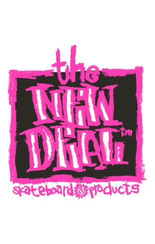 New Deal Original Napkin Logo Sticker