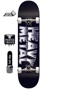 Darkstar Heavy Metal Chrome Complete Skateboard