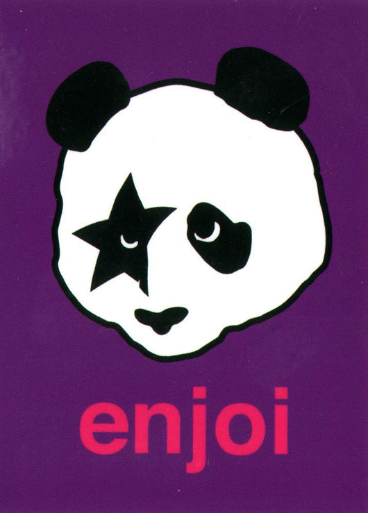 Enjoi Kiss Paul Stanley Panda Sticker
