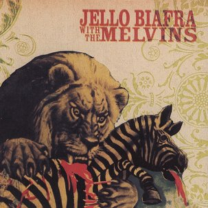 Jello Biafra with the Melvins - Never Breathe What You Can't See LP
