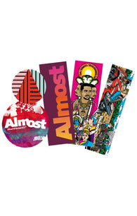 Almost Skateboards Summer 2018 Sticker 5pk