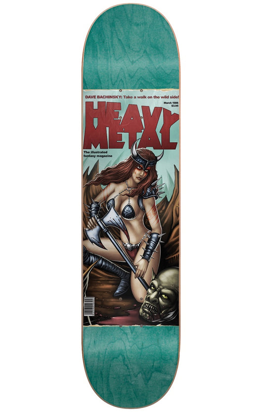 Darkstar Heavy Metal Dave Bachinsky Skateboard Deck