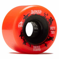 BONES ATF Rough Rider Wranglers 56mm 80a Red Skateboard Wheels