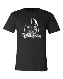The Dark Slide Vader Head Logo (Glow in the Dark) T-Shirt