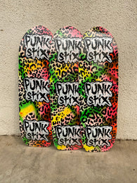 Punk Stix One Off Logo Skateboard Deck