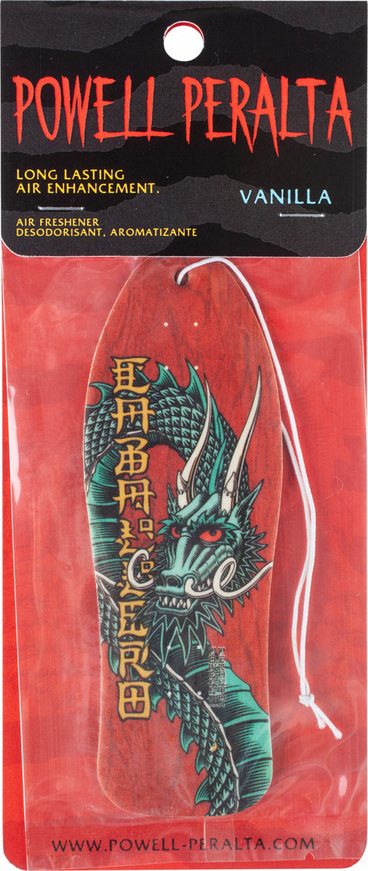 Powell Peralta Steve Caballero Ban This Dragon Air Freshener Vanilla Scented