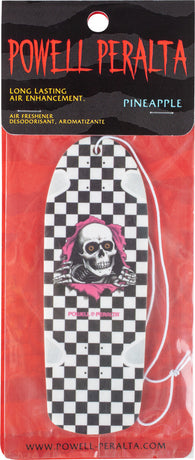 Powell Peralta Checker Ripper Black & White Skateboard Deck Air Freshener