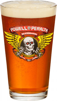Powell Peralta Winged Ripper Pint Glass