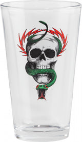 Powell Peralta Mike McGill Skull Snake Pint Glass *Pre-Order*