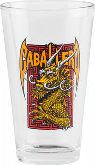 Powell Peralta Steve Caballero Cab Street Dragon Pint Glass *Pre-Order*