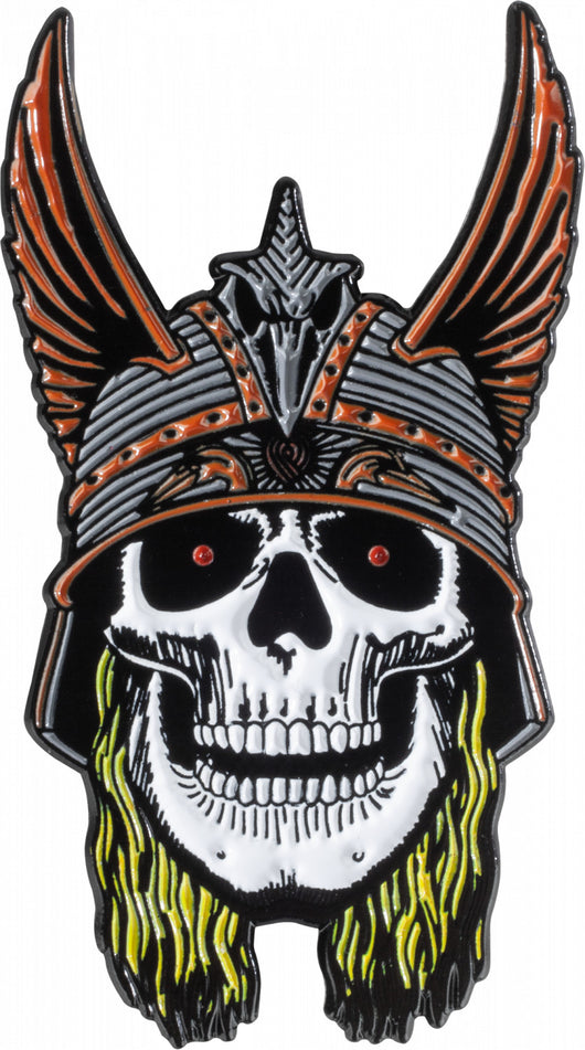 Powell Peralta Andy Anderson Skull Lapel Pin
