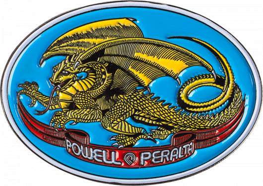 Powell Peralta Oval Dragon Enamel Lapel Pin