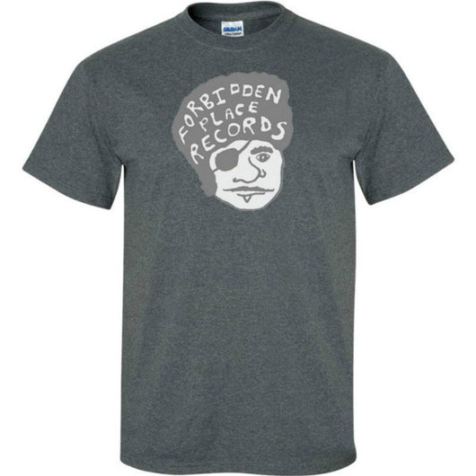 "T-shirts Forbidden Place Records ""Ricardo Hairdo"" Limited Edition T-Shirt - TheDarkSlide"