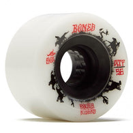 BONES ATF Rough Rider Wranglers 56mm 80a White Skateboard Wheels