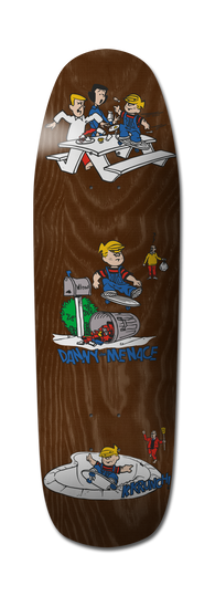 Plan B Danny the Menace Skateboard Deck