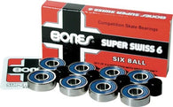 Bones Super Swiss 6 Bearings (8 pack)