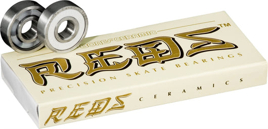 Bones Ceramic Super REDS Bearings (8 pack)