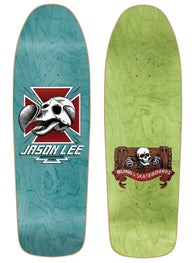 Blind Jason Lee Dodo Skull Green Screened Skateboard Deck