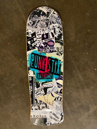 Punk Stix Punk Flyer Fish Skateboard Deck