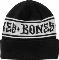 BONES WHEELS Home School'd Black Beanie