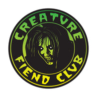 Creature Fiend Club Sticker