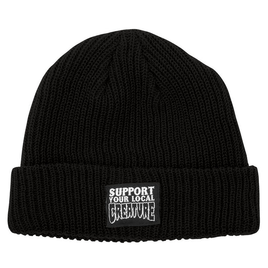 Creature Support Your Local Beanie Long Shoreman Hat