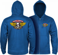 Powell Peralta Winged Ripper Zip Hooded Sweatshirt
