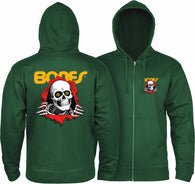 Powell Peralta Ripper Zip Hooded Sweatshirt
