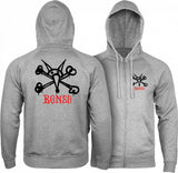 Powell Peralta Rat Bones Zip Hooded Sweatshirt