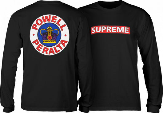 Powell Peralta Supreme Long Sleeve T-Shirt