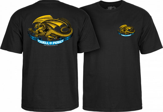 T-shirts Powell Peralta Oval Dragon T-shirt - TheDarkSlide