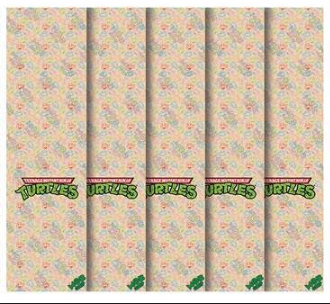 Mob x Teenage Mutant Ninja Turtles TMNT Half Shell Heroes Clear Skateboard Grip Tape