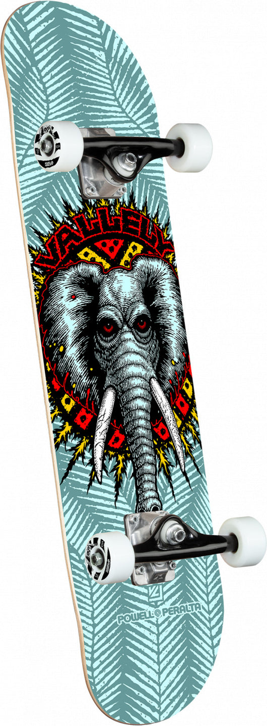 Powell Peralta Mike Vallely Elephant Blue Complete Skateboard 8.25 x 31.95