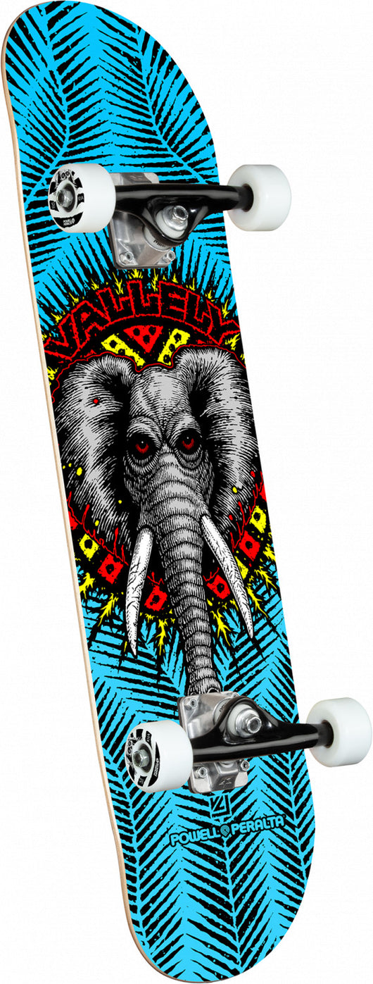 Powell Peralta Mike Vallely Elephant Blue Complete Skateboard 8 x 31.45