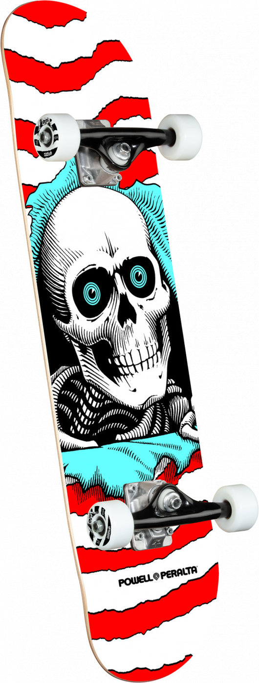 Powell Peralta Ripper Red Complete Skateboard 8 x 31.45