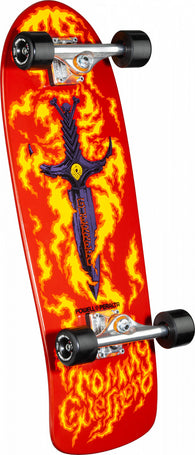 Powell Peralta Tommy Guerrero Flaming Dagger Red Bones Brigade Complete Skateboard