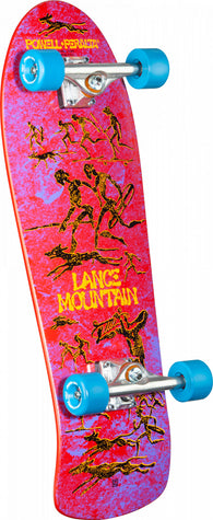 Powell Peralta Lance Mountain Primitive Red Bones Brigade Complete Skateboard