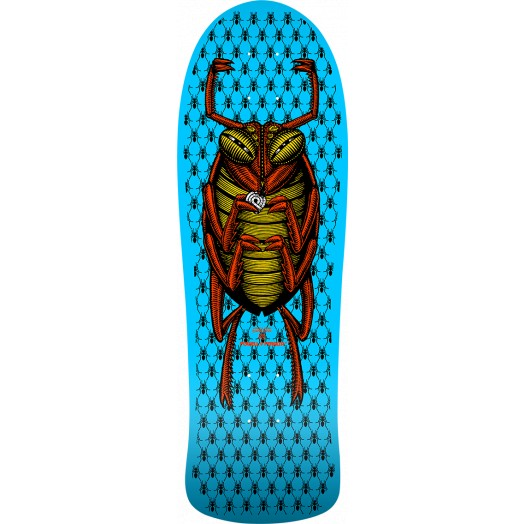 Powell Peralta OG Bug old school Blue Skateboard Deck