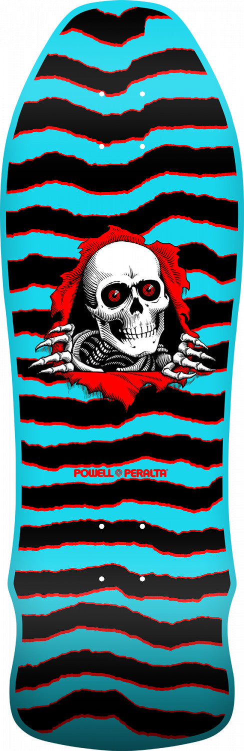 Powell Peralta Ripper Geegah Blue Skateboard Deck