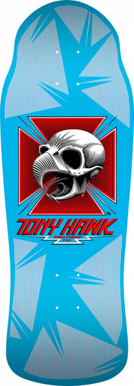 Skateboard Decks Powell Peralta Tony Hawk Skull Blue Skateboard Deck - TheDarkSlide