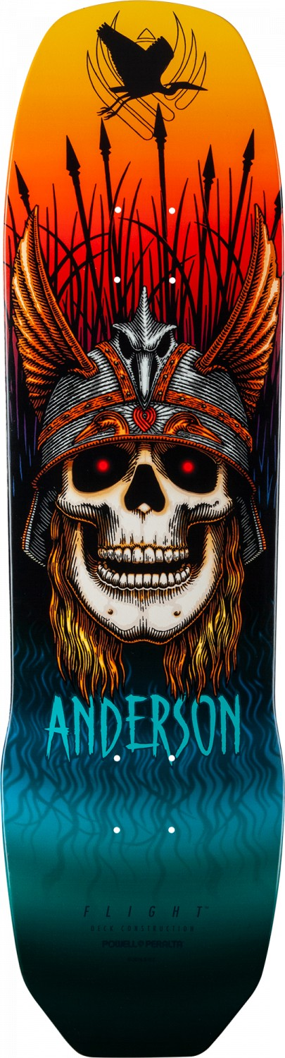 Powell Peralta Pro Andy Anderson Heron Flight® Skateboard Deck
