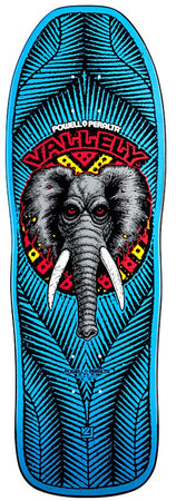 Powell Peralta Mike Vallely Elephant Blue Skateboard Deck **Pre-Order**
