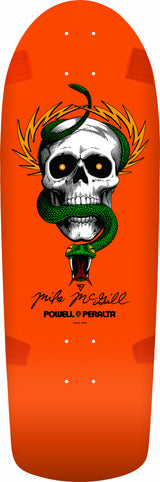 Powell Peralta Mike McGill Skull & Snake Orange Skateboard Deck *pre-order*