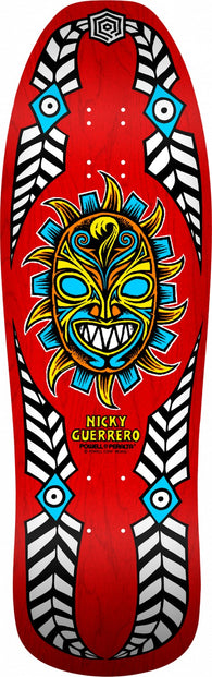 Powell Peralta Nicky Guerrero Mask RED Skateboard Deck